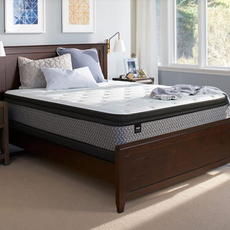 Twin Sealy Response Essentials Townhouse IV Plush Pillow Top Mattress