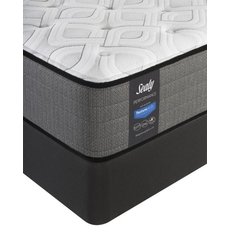 Queen Sealy Posturepedic Response Performance Cooper Mountain IV Plush Mattress with Reflexion 4 Adjustable Power Base Foundation