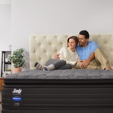 Queen Sealy Response Performance Elm Avenue Plush Pillow Top Mattress