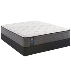 Queen Sealy Posturepedic Response Performance Mountain Ridge IV Cushion Firm Euro Top 12 Inch Mattress