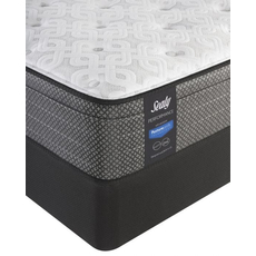 Sealy Posturepedic Response Performance Mountain Ridge IV Plush Euro Top Queen Mattress Set OVMB101708