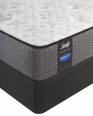 Cal King Sealy Posturepedic Response Performance Santa Paula IV Cushion Firm Mattress with Reflexion 4 Adjustable Power Base Foundation