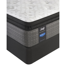 Sealy Posturepedic Response Performance Santa Paula IV Cushion Firm Pillow Top Queen Mattress Set OVMB101712
