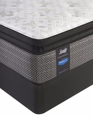 Full Sealy Posturepedic Response Performance Santa Paula IV Cushion Firm Pillow Top Mattress