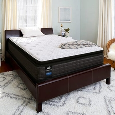 Queen Sealy Posturepedic Response Performance Santa Paula IV Cushion Firm Pillow Top Mattress