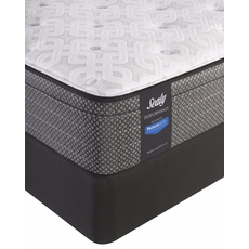 King Sealy Posturepedic Response Performance Santa Paula IV Plush Euro Top Mattress with Reflexion 4 Adjustable Power Base Foundation