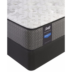 Queen Sealy Posturepedic Response Performance Santa Paula IV Plush Mattress with Reflexion 4 Adjustable Power Base Foundation