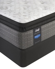 Queen Sealy Posturepedic Response Performance Santa Paula IV Plush Pillow Top Mattress