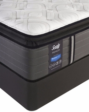 Cal King Sealy Posturepedic Response Premium Warrenville IV Cushion Firm Pillow Top Mattress