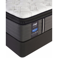 Twin Sealy Posturepedic Response Premium Warrenville IV Plush Pillow Top Mattress