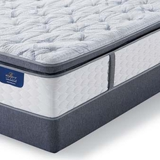 King Serta Hotel Bellagio Azzura II Plush Super Pillow Top Mattress