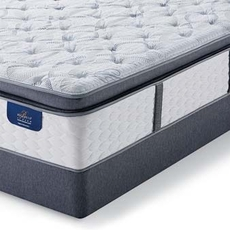 Queen Serta Hotel Bellagio Briaza II Plush Super Pillow Top Mattress