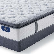 Queen Serta Hotel Bellagio Grande Notte II Firm Super Pillow Top Mattress