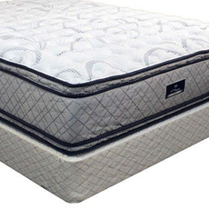 Serta Perfect Sleeper Hotel Enrapture II Double Sided Eurotop Queen Mattress Set OVMB101713