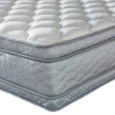 Serta Perfect Sleeper Hotel Presidential Suite II Euro Pillow Top Double Sided 14.25 Inch Cal King Mattress Only SDMB012035 - Scratch and Dent Model ''As-Is''
