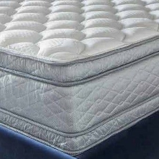 "Serta Perfect Sleeper Hotel Presidential Suite II Euro Pillow Top Double Sided Queen Mattress Only OVML121837 - Clearance Model ""As Is"""