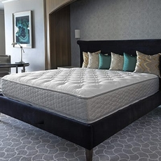 Full Serta Perfect Sleeper Hotel Sapphire Suite II Firm Double Sided 14 Inch Mattress