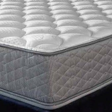 "Serta Perfect Sleeper Hotel Sapphire Suite II Firm Double Sided Cal King Mattress Only SDMB111840  - Scratch and Dent Model ""As-Is"""