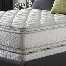 King Serta Perfect Sleeper Sapphire Suite Double Sided Pillowtop Mattress