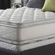Serta Perfect Sleeper Sapphire Suite Double Sided Pillowtop King Mattress Set SDMB111706