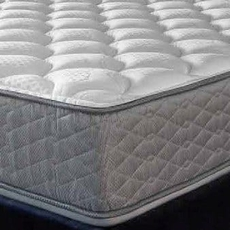"Serta Perfect Sleeper Hotel Sapphire Suite II Plush Double Sided Twin Mattress Only OVML121845 - Clearance Model ""As Is"""