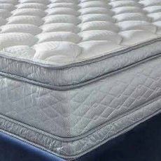 "Serta Perfect Sleeper Hotel Signature Suite II Euro Pillow Top Double Sided Queen Mattress Only OVML121849 - Clearance Model ""As Is"""