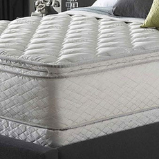 Full Serta Perfect Sleeper Silver Suite Supreme Pillowtop Mattress