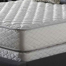 Twin Serta Perfect Sleeper Silver Suite Supreme Double Sided Plush Mattress
