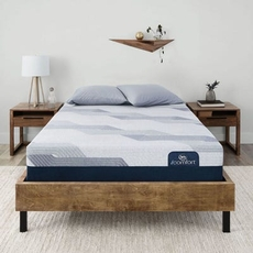 Serta iComfort Blue 100 CT Gentle Firm 9.75 Inch Queen Mattress Only SDMB101947 - Scratch and Dent Model ''As-Is''