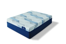 Queen Serta iComfort Blue 100 Gentle Firm Mattress with Motion Essential III Adjustable Base