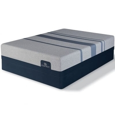 Serta iComfort Blue Max 3000 Elite Plush 13.5 Inch Queen Mattress Only SDMB121920 - Scratch and Dent Model ''As-Is''