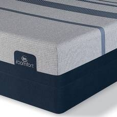 Queen Serta iComfort Blue Max 5000 Elite Luxury Firm Mattress with Motion Essential III Adjustable Base