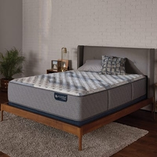 Queen Serta iComfort Hybrid Blue Fusion 100 Firm 12 Inch Mattress Only SDMB092037 - Scratch and Dent Model ''As-Is''