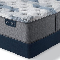 Serta iComfort Hybrid Blue Fusion 100 Firm 12 Inch Queen Mattress Only SDMB012051 - Scratch and Dent Model ''As-Is''