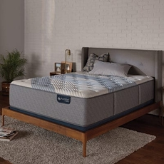 King Serta iComfort Hybrid Blue Fusion 3000 Firm 15 Inch Mattress
