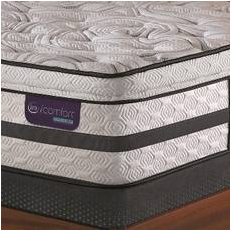 King Serta iComfort Hybrid Merit II Super Pillow Top Mattress