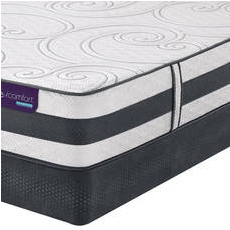 King Serta iComfort Hybrid Visionaire Ultra Plush Mattress with Motion Essential III Adjustable Base