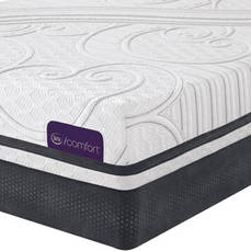 King Serta iComfort Savant III Cushion Firm Mattress - Closeout Model As Is + FREE Amazon Echo Show