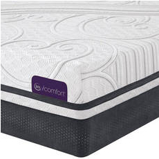 King Serta iComfort Savant III Plush Mattress - Closeout Model As Is + 4 FREE Amazon Echo Dots