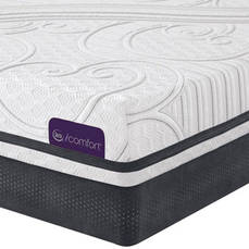 King Serta iComfort Savant III Plush Mattress - Closeout Model As Is + FREE Amazon Echo Show