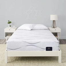 Full Serta Perfect Sleeper Elite Foam Merriam II Firm 10 Inch Mattress