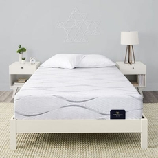 Full Serta Perfect Sleeper Elite Foam Southpoint II Plush 12 Inch Mattress