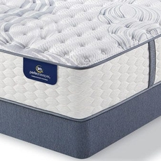 King Serta Perfect Sleeper Elite Mendelson II Luxury Firm Mattress with Motion Essential III Adjustable Base