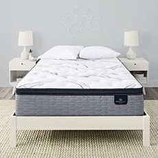 King Serta Perfect Sleeper Elite Trelleburg II Firm Pillow Top Mattress