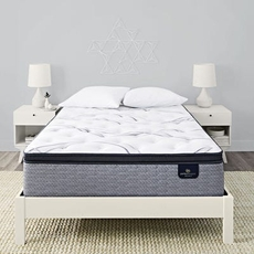 "Serta Perfect Sleeper Elite Trelleburg II Plush Pillow Top 14.25 Inch Twin XL Mattress Only OVML101913 - Clearance Model ""As-Is"""