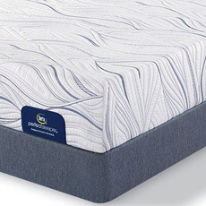 Queen Serta Perfect Sleeper Foam Howerton II Firm Mattress