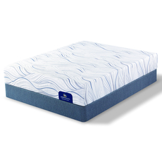 King Serta Perfect Sleeper Foam Howerton II Firm Mattress with Motion Custom II Adjustable Base