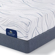 Queen Serta Perfect Sleeper Foam Carriage Hill Luxury Firm Mattress