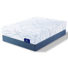 King Serta Perfect Sleeper Foam Killingsworth II Luxury Firm Mattress with Motion Custom II Adjustable Base