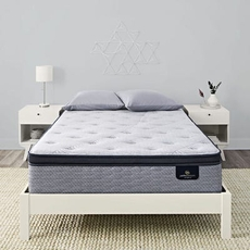 Queen Serta Perfect Sleeper Hybrid Standale II Firm Pillow Top Mattress